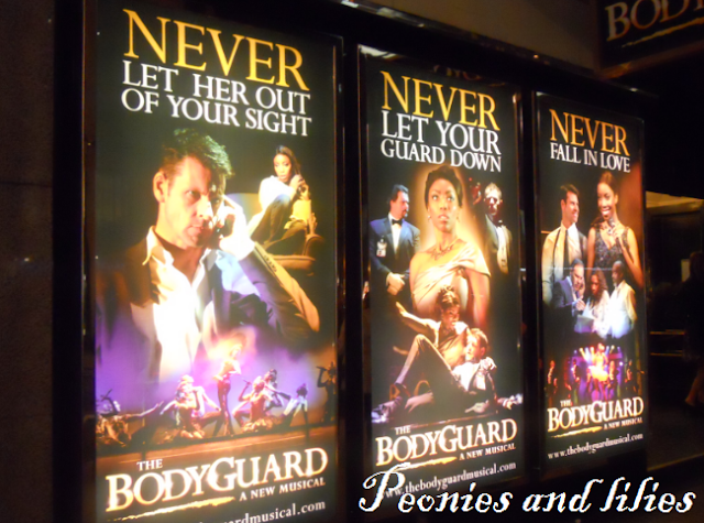 The bodyguard musical, Adelphi theatre