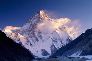 """""""Mount K2 and Man Endurance"""""""