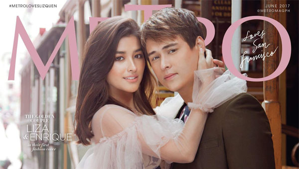 LizQuen graces cover of Metro Magazine June 2017 cover