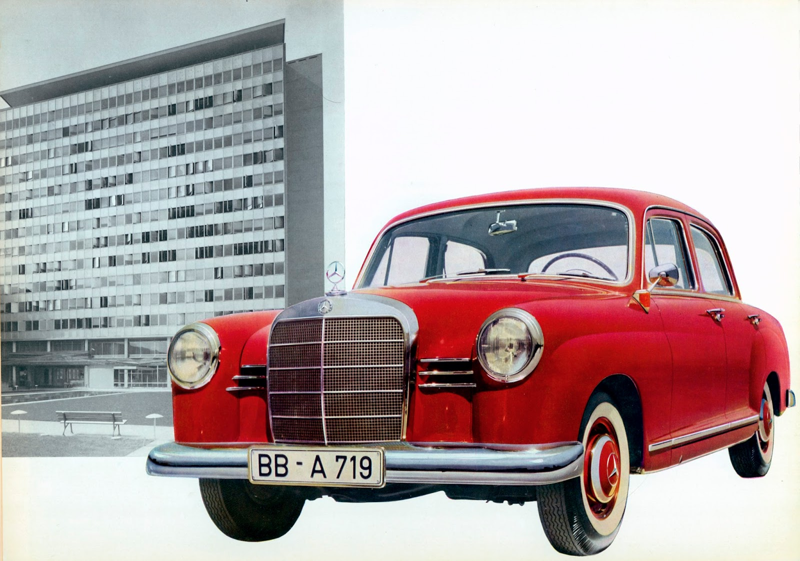 The Automobile and American Life: The Mercedes Benz 180, 1953