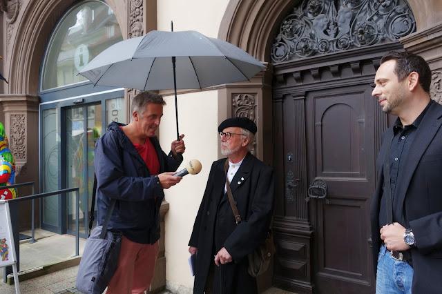 Alexander Tauscher im Gespräch mit Leonard Enderlein