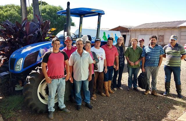 Manoel Ribas: Prefeita recebe moradores do Assentamento Nova Itaúna