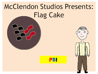 McClendon Studios Presents: The Flag Cake
