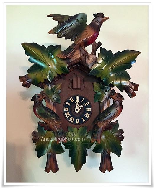Pappy's Cuckoo Clock