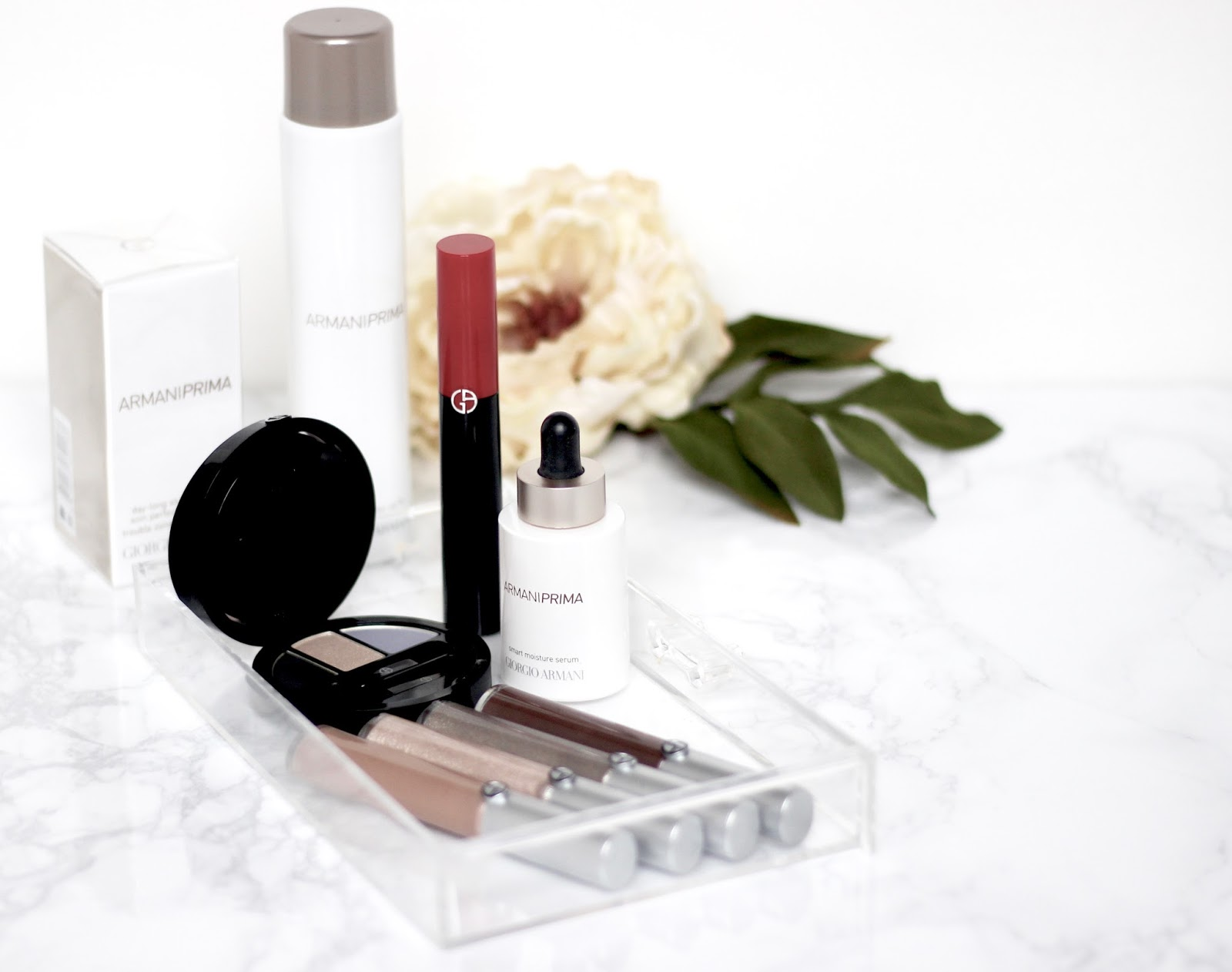Armani beauty eye-tint and prima collection