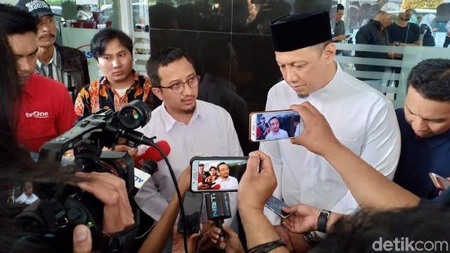 Yusuf Mansur: Wajah Ustaz Arifin Ilham Cerah