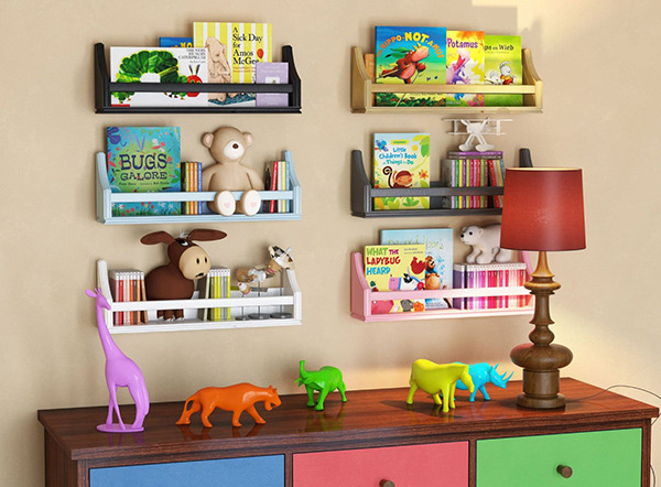 Shelves for Kids bedroom