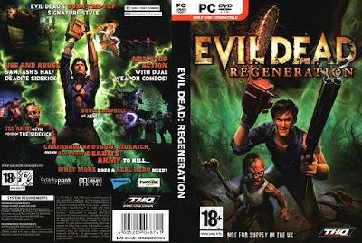 Jogo Evil Dead Regeneration PC DVD Capa