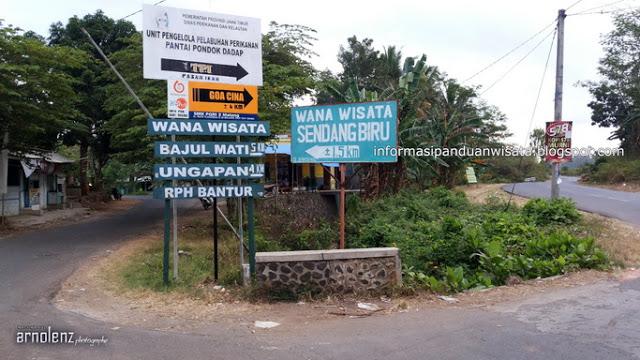 Rute ke Pantai 3 Warna di Malang