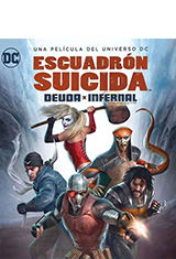 Suicide Squad: Hell to Pay (2018) BDRip 1080p Latino AC3 5.1 / Español Castellano AC3 2.0 / ingles DTS 5.1