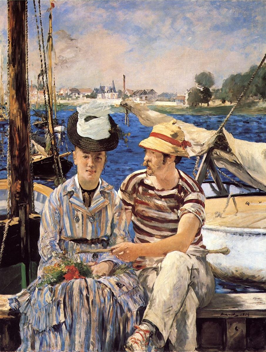 manet 1 Édouard manet was born in paris on 23 january 1832, in the ancestral.
