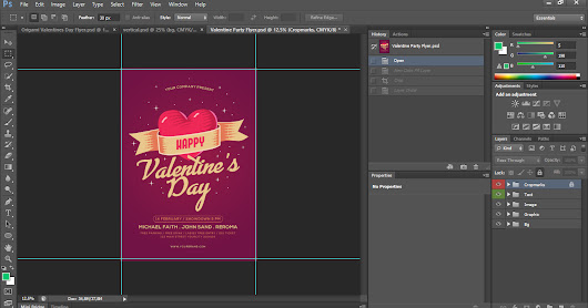 Free Download Valentine's Day Flyer Package