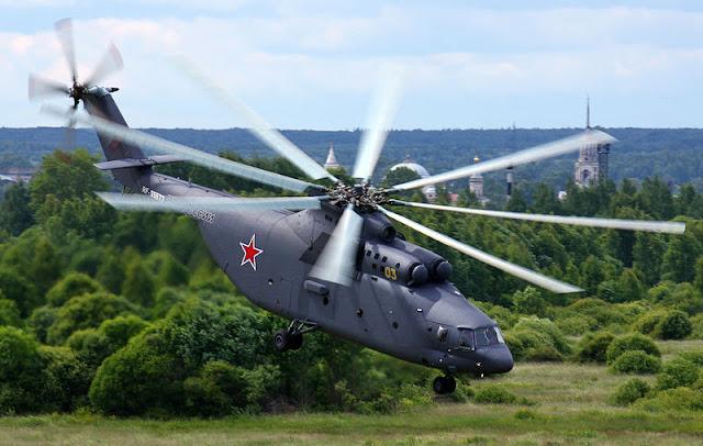 Gambar 56. Foto Helikopter Angkut Militer Mil Mi-26