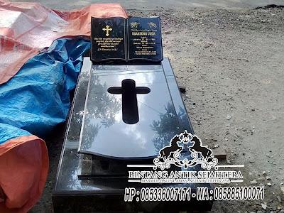 Kijing  Granit, Makam Batu Granit, Model Kuburan Kristen Terbaru
