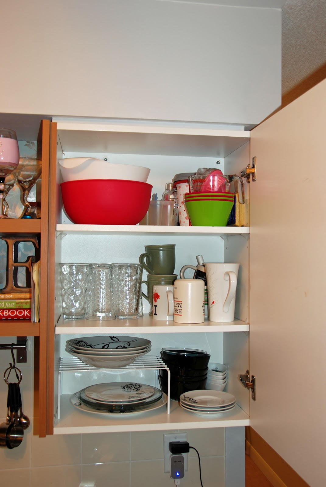 Waffling: My Tips: Small Kitchen Storage