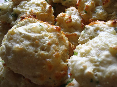 Cheddar Dijon Biscuits