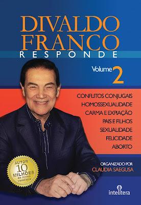 Para mais informações sobre Divaldo Franco Responde Vol.2   clique na imagem o livro.