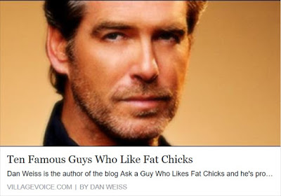 Famous fat admirers