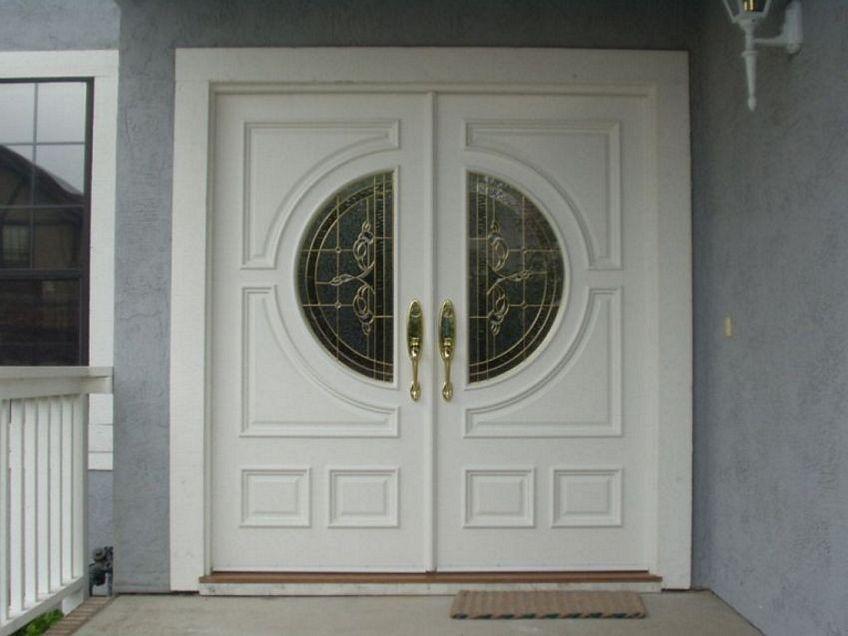 pintu cat duco putih 1
