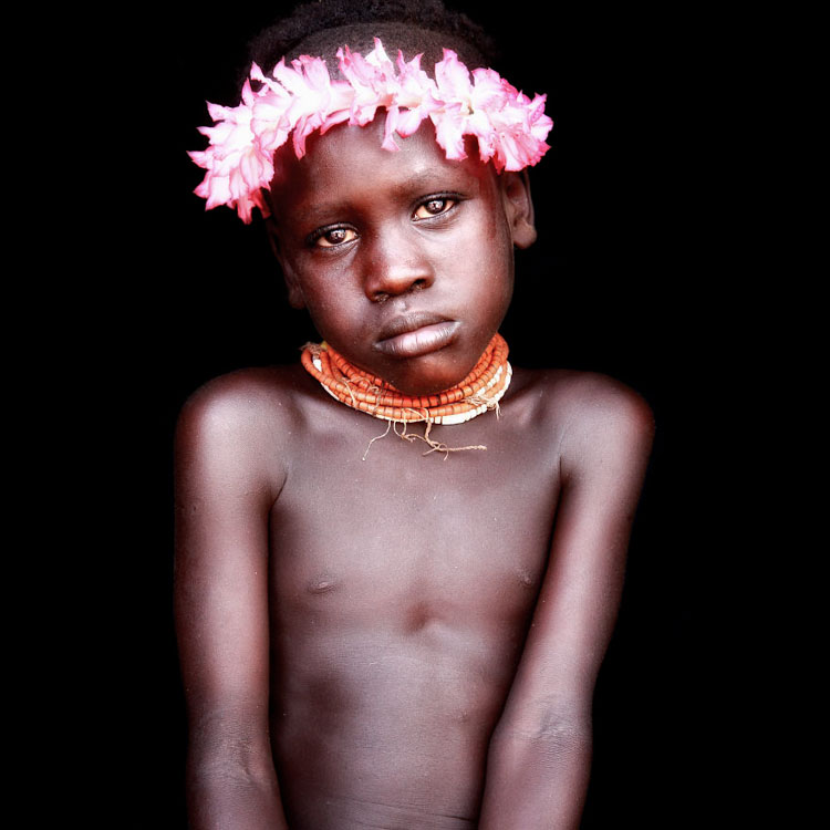 11 Mind-Blowing Pictures Of The Last African Nomads - A Karo Boy in Ethiopia