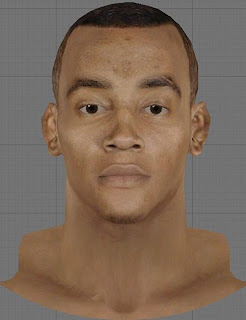 NBA 2K13 Monta Ellis Cyberface Patch