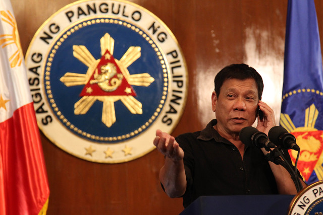 Pres. Rody: Pursue independent foreign policy