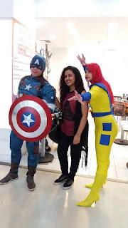 Encontro de cosplay no Shopping Grande Rio