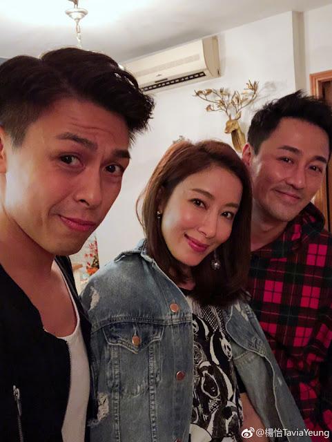 Tavia Yeung, Raymond Lam 13th TVB Artistes Reunion