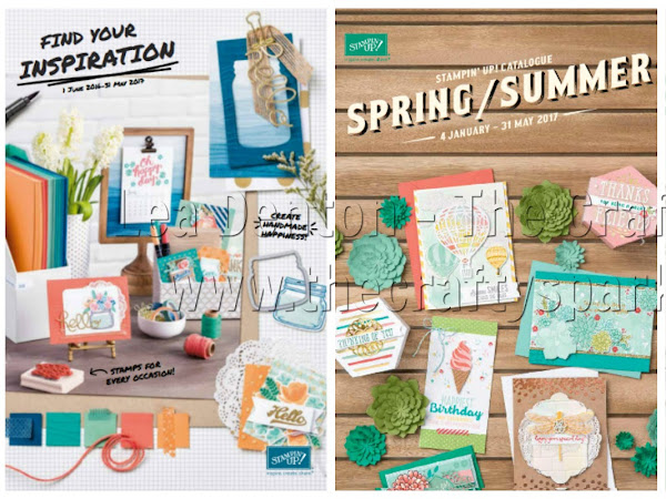 The New Stampin' Up! Spring / Summer Catalogue 2017