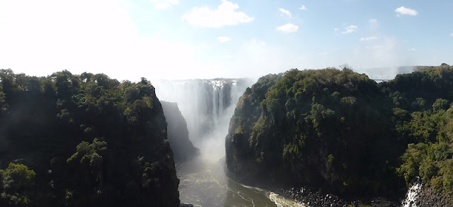 Cataratas Victoria, lado Zambia