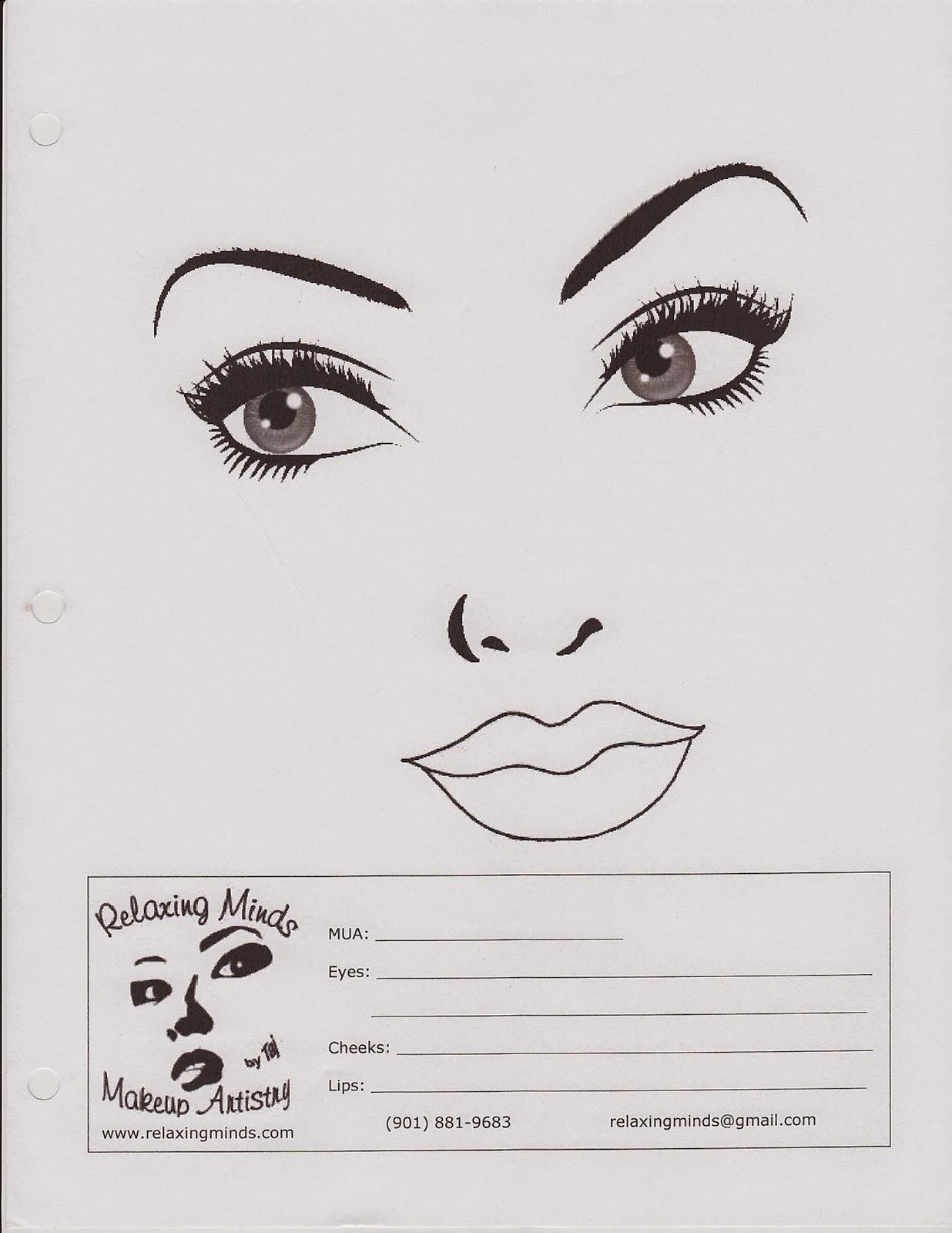 Tabi I Beauty Face Chart