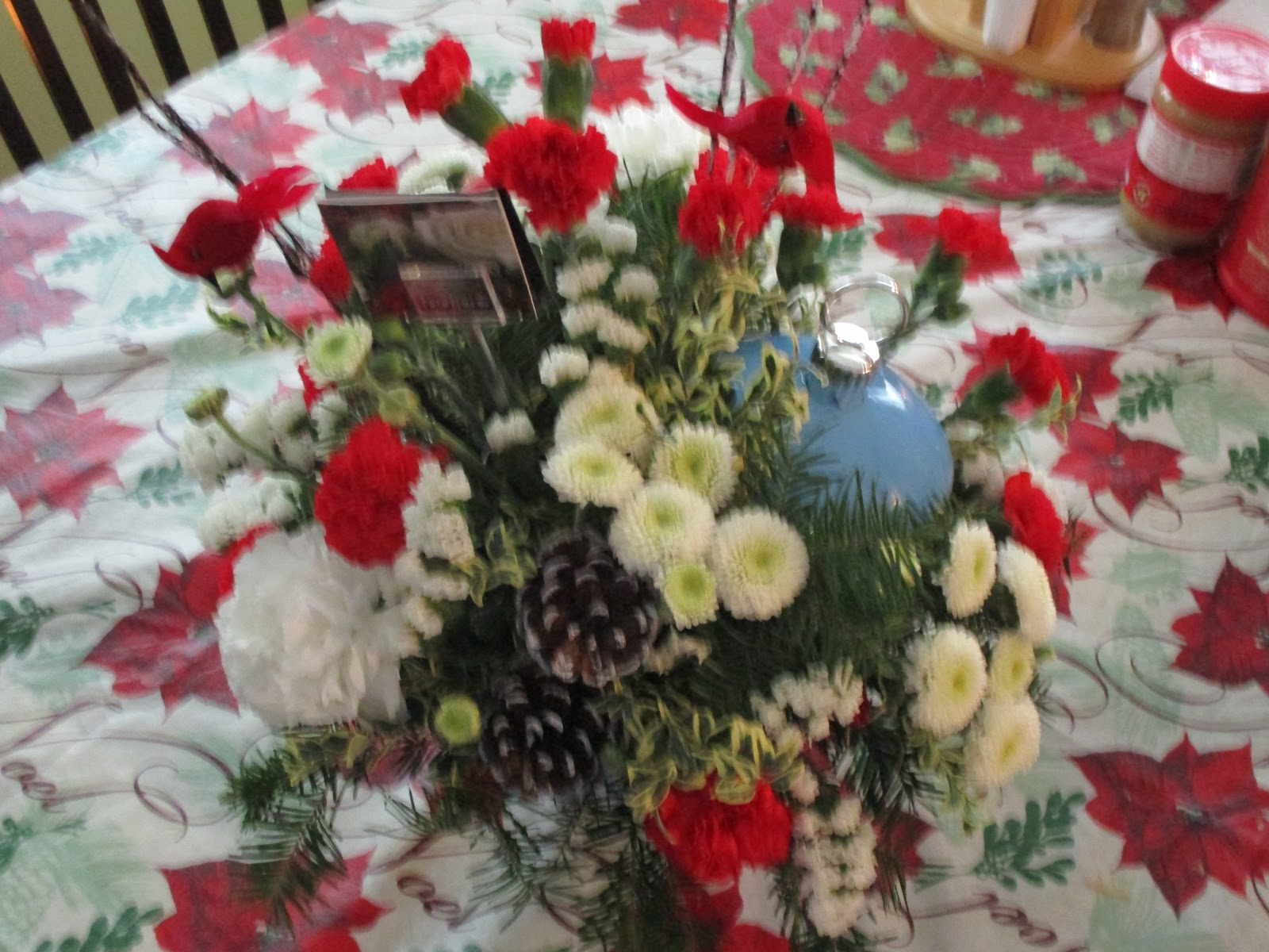 Missys Product Reviews : Teleflora Cardinals In The Snow