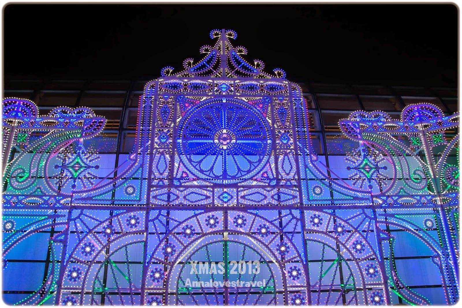 2013聖誕燈飾系列:沙田新城市廣場空中花園 | 安娜愛閒遊