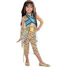 Monster High Party City Cleo de Nile Outfit Small Child Costume