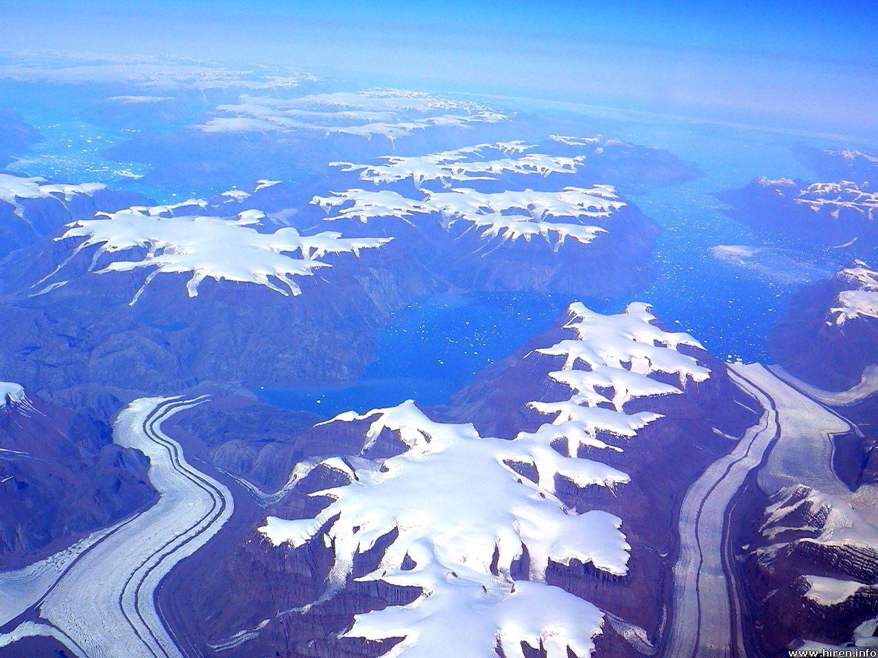 Stonehenge and the Ice Age: Plateau ice caps, Greenland