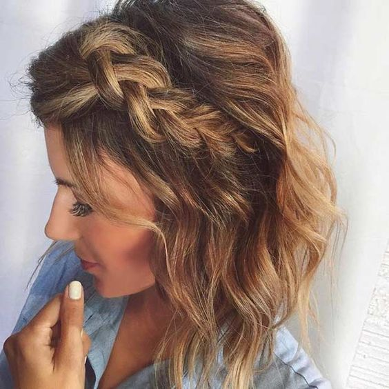 Easy Holiday Hairstyles Medium Length Hair. - KiziFashion