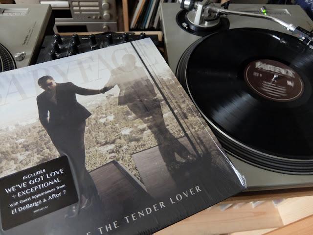 ベイビーフェイスのReturn Of The Tender Loverのアナログレコードです。