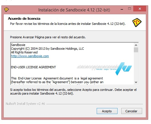 Sandboxie Español Full 4.12 Final