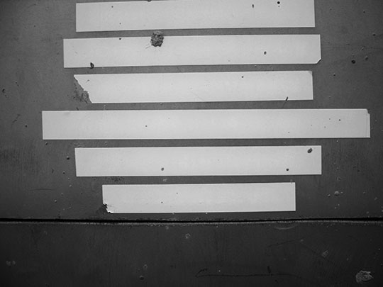black and white photography, urban photography, abstract, art, 6 strips, Sam Freek, minimal,