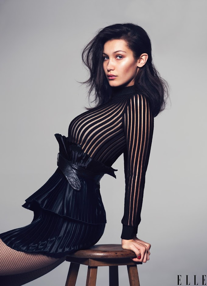 Bella Hadid (1996): American model