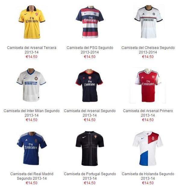 bdc4927912d82 camisetas futbol baratas online en camisetasequiposdefutbol.com  2013