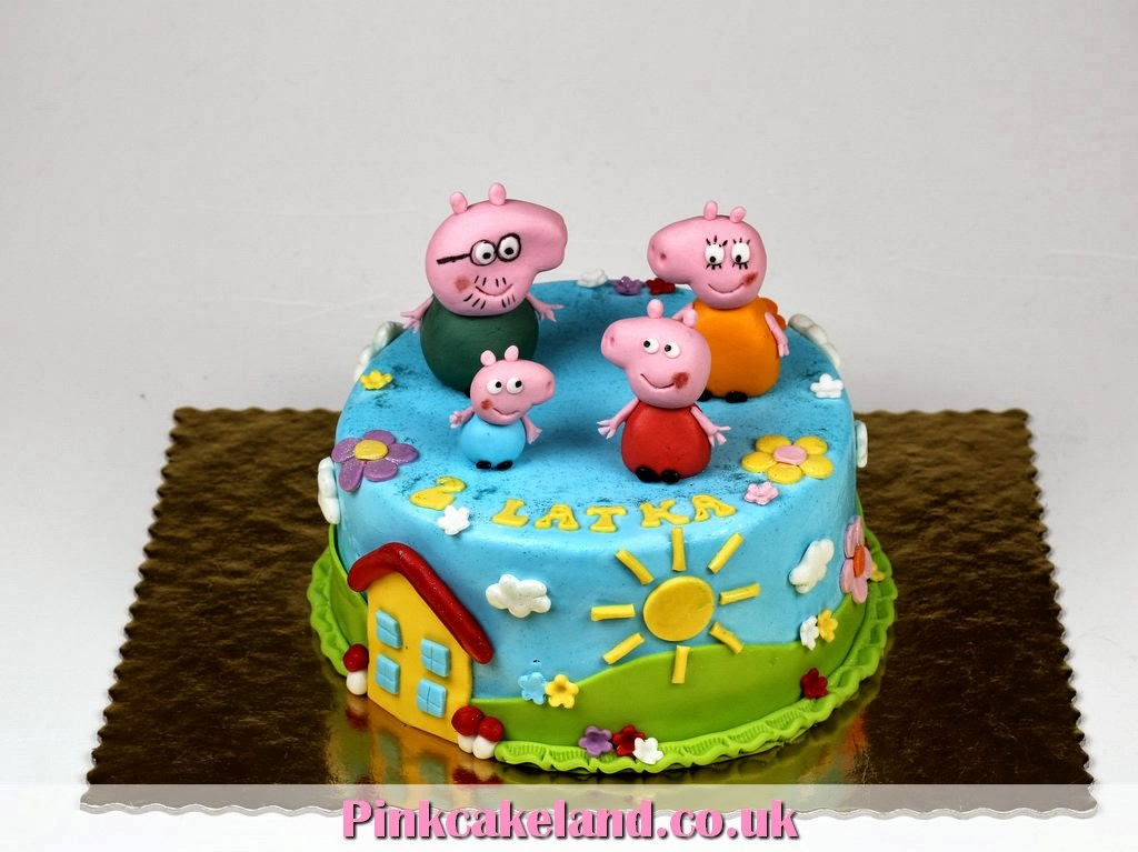 Peppa 2nd Birthday Cake - Chelsea Cakes