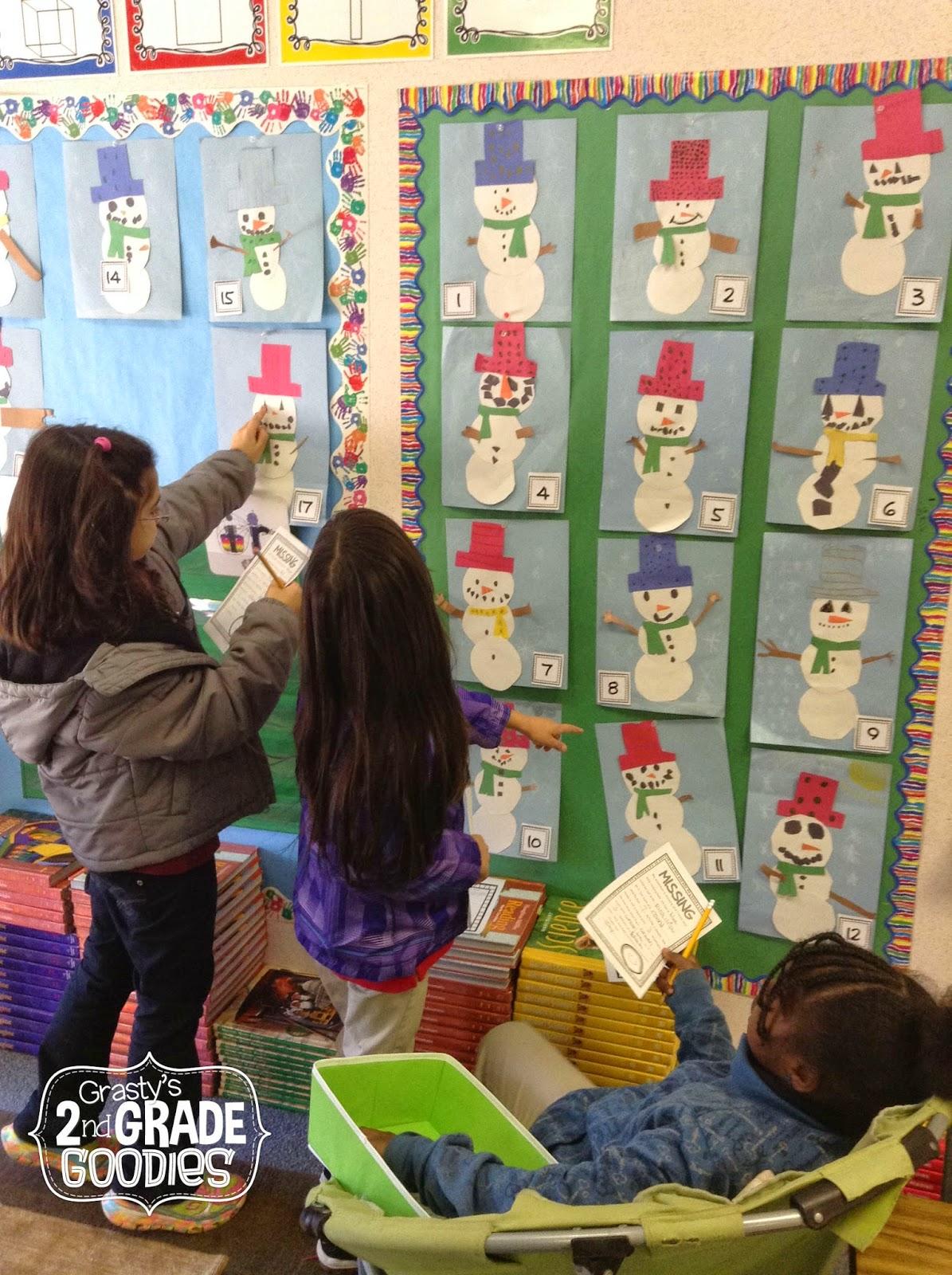 Grasty S 2nd Grade Goo S Fun With Snowmen