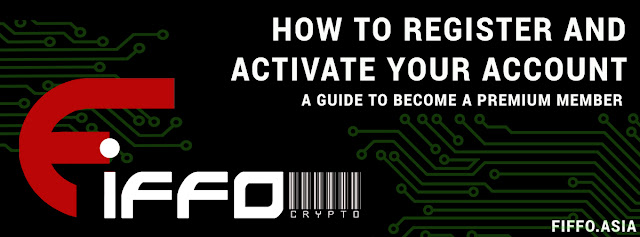 How to Register in Fiffo and Become a Premium Member (F-CRYPT ONLINE TRADING)