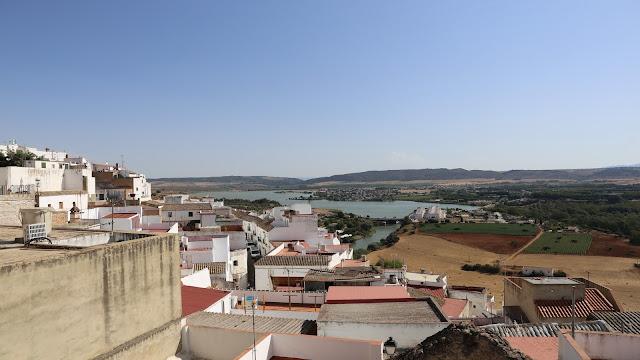 Rio Guadalete desde el Mirador de Abades - Arcos de la Frontera