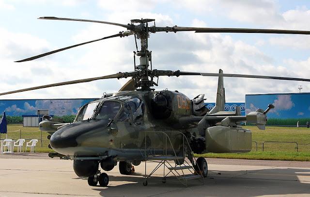 Gambar 16. Foto Helikopter Tempur Kamov Ka-52 Alligator