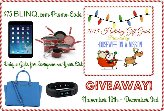 Holiday Gift Guide BLINQ Giveaway