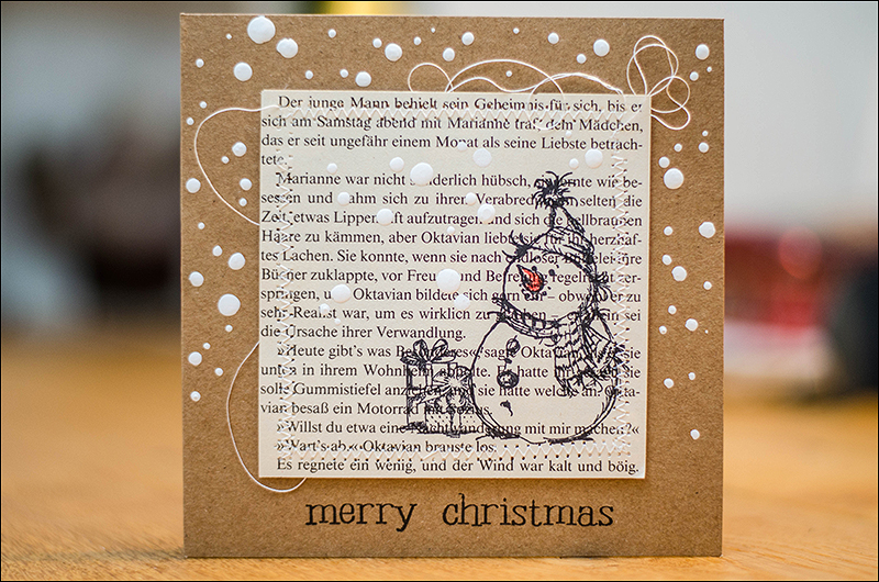 Stephanie Berger - Scrapbooking - Cardmaking - Stamping - Christmas Card