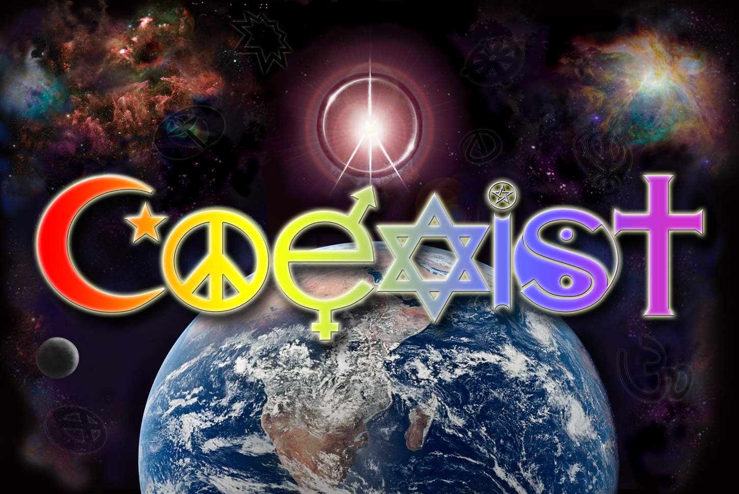 The Coexist Movement Universalism And The One World Religion A