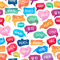 Learn to say Peace in Many Languages-Share the Love